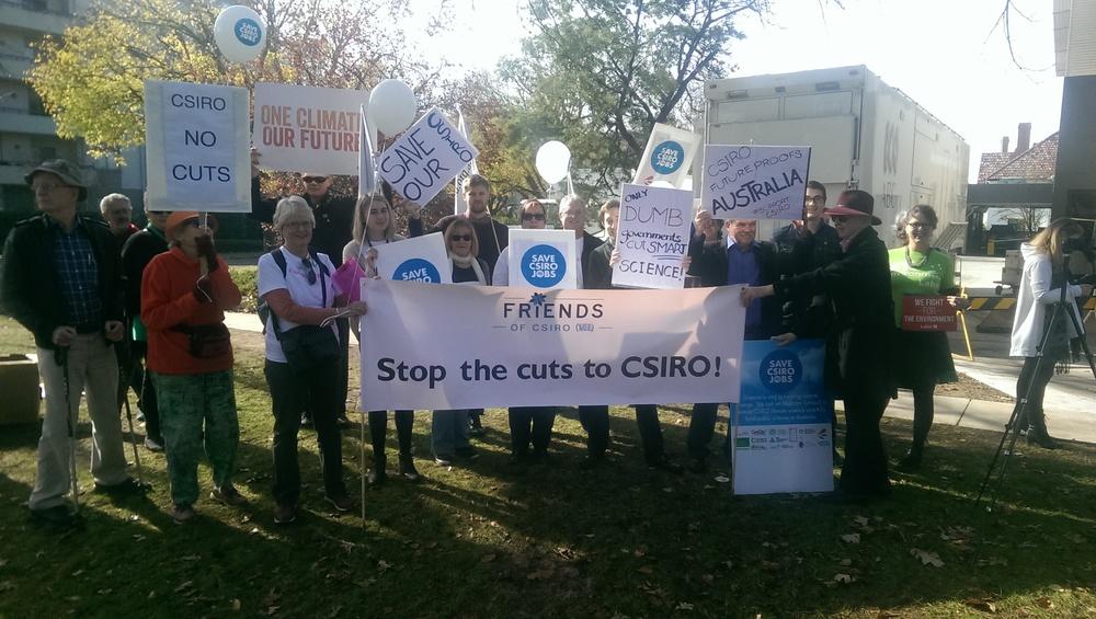 CSIRO climate cuts